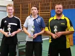 Siegerehrung Vereinsmeisterschaften 2015