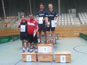 2. Platz Doppel Herren-B Katzer/Härle