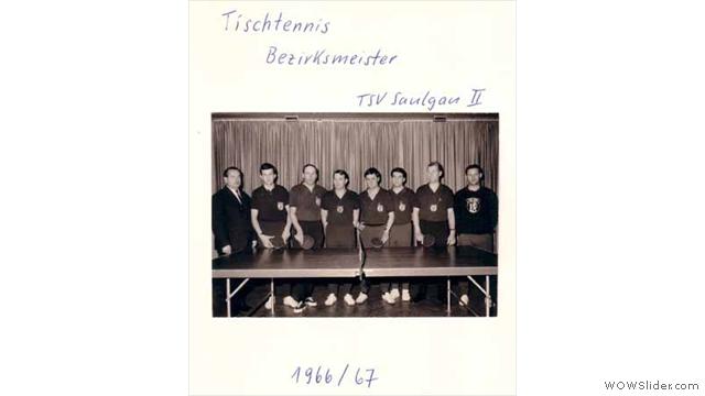 Bezirksmeister 1966 1967