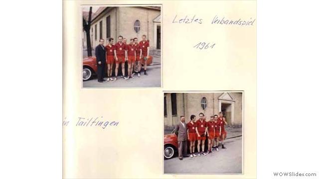 Gegen Tailfingen 1961