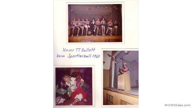 Sportlerball mit TT-Ballett 1967